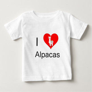 I love alpacas baby T-Shirt