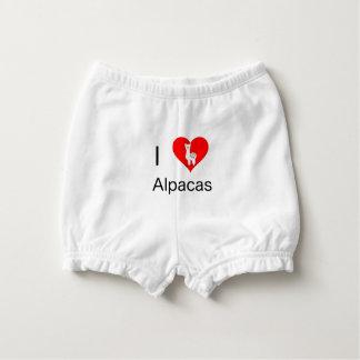I love alpacas nappy cover