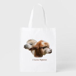 I love Alpacas Reusable Bag