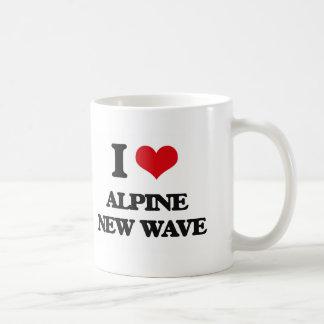 I Love ALPINE NEW WAVE Mugs