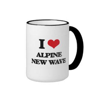 I Love ALPINE NEW WAVE Coffee Mugs