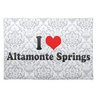 I Love Altamonte Springs, United States Place Mats