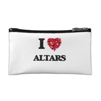 I Love Altars Makeup Bag