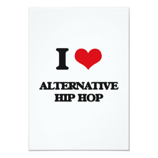 I Love ALTERNATIVE HIP HOP Personalized Announcement