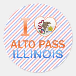 I Love Alto Pass, IL Stickers