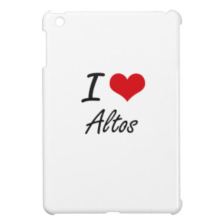I Love Altos Artistic Design iPad Mini Cover