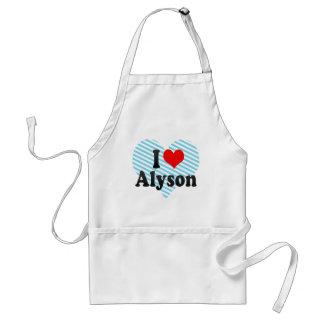 I love Alyson Apron