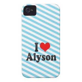 I love Alyson Blackberry Bold Cover