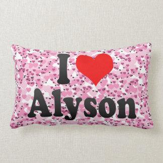 I love Alyson Pillows