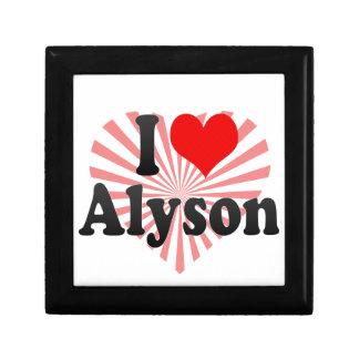 I love Alyson Jewelry Boxes