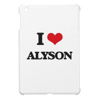 I Love Alyson Cover For The iPad Mini