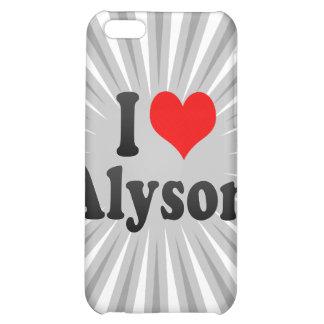 I love Alyson Case For iPhone 5C