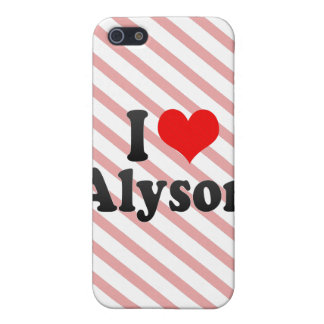 I love Alyson Covers For iPhone 5