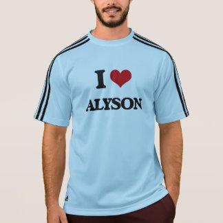 I Love Alyson Tee Shirts