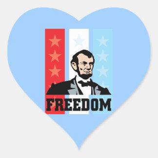 I Love America - Abraham Lincoln President Stickers