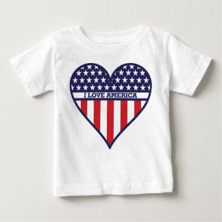 I Love America Baby T-Shirt