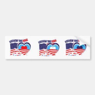 I love America - Elect Obama Now Bumper Sticker