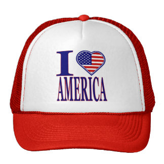 I Love America Forth Of July Edition Hat