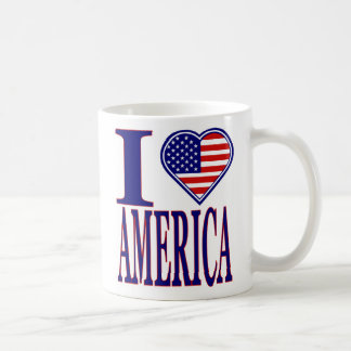 I Love America Forth of July Edition Mug