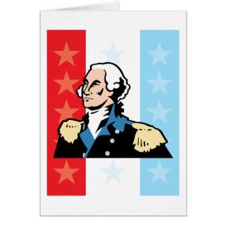 I Love America - George Washington President USA Greeting Card