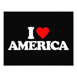 I LOVE AMERICA PHOTO ART