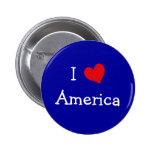 I Love America Pins