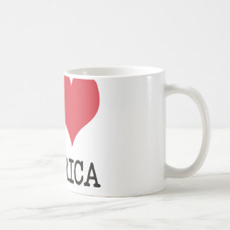 I LOVE AMERICA Products & Designs! Basic White Mug