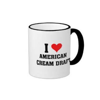 I love American Cream Draft Ringer Mug