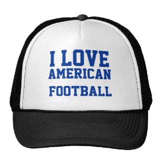 i love american football trucker hats
