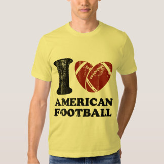 I Love American Football Tees