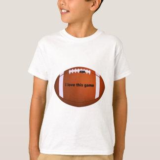 I love American footballs.png T-Shirt