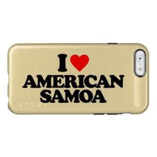 I LOVE AMERICAN SAMOA INCIPIO FEATHER® SHINE iPhone 6 CASE