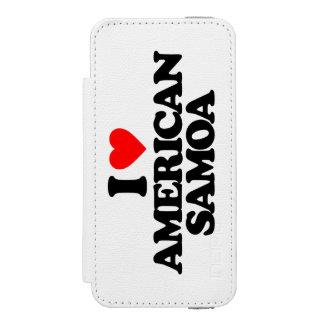 I LOVE AMERICAN SAMOA INCIPIO WATSON™ iPhone 5 WALLET CASE