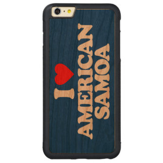 I LOVE AMERICAN SAMOA iPhone 6 PLUS CASE
