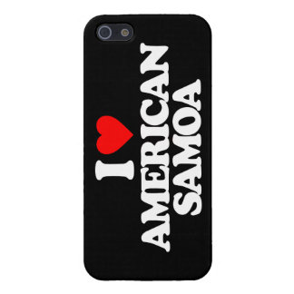 I LOVE AMERICAN SAMOA CASE FOR iPhone 5
