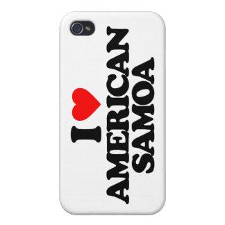 I LOVE AMERICAN SAMOA iPhone 4 COVER