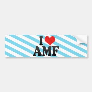 I Love AMF Bumper Stickers