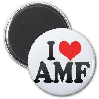 I Love AMF Fridge Magnets