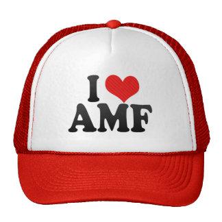 I Love AMF Hats