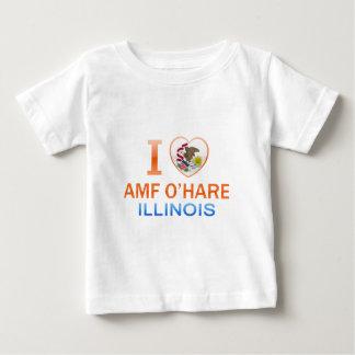 I Love AMF O'Hare, IL T Shirt