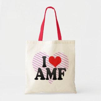I Love AMF Budget Tote Bag