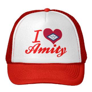 I Love Amity, Arkansas Trucker Hat