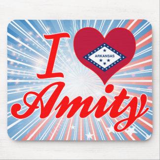 I Love Amity Arkansas Mouse Pads
