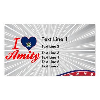 I Love Amity, Maine Business Card Templates