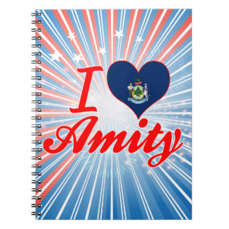 I Love Amity, Maine Note Book