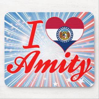 I Love Amity Missouri Mousepads