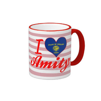 I Love Amity, Oregon Mug