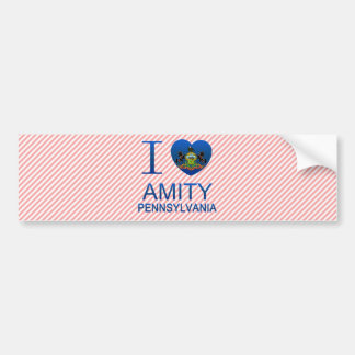 I Love Amity, PA Bumper Stickers