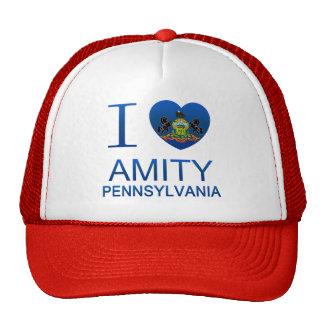 I Love Amity, PA Mesh Hat