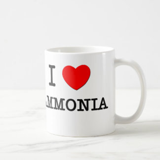 I Love Ammonia Coffee Mugs